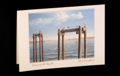 Vancouver Island - Sidney by the Seagulls - art card