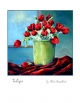 Tulips card front