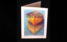 At Anchor straight edge art card