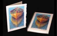 Coastal - At Anchor - Art card