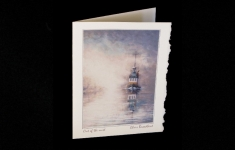 Out of the Mist deckle edge art card