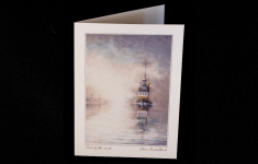 Coastal - Out of the Mist - Art card