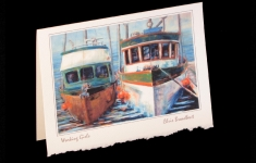 Coastal - Working Girls - Art card
