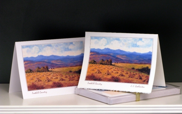 Art Card - Western Landscapes - Foothill Country