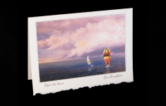 Before the Storm deckle edge art card