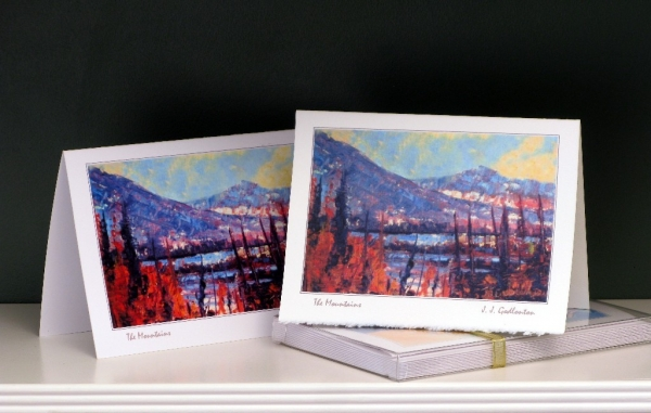 Art Card - Western Landscapes - The Mountains