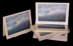 Coastal - Calm before the storm - Art Card