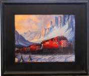 Black Jasper Plein Air Frame sample
