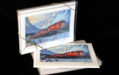 "Boxed Art Cards - CPR5563 ""A Heavy Pull From the Valley Floor"""