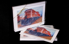 "Boxed Art Cards - CPR8101 ""Yard Engine"""