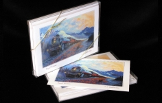 "Boxed Art Cards - CPR2860 ""The Royal Hudson"""
