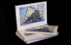 "Boxed Art Cards - CPR2808 ""Crossing the Prairie Circa 1930"""