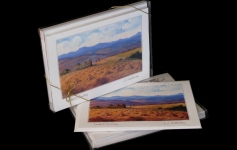 Boxed Art Cards - Foothill Country