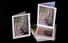 Forests - Walk in the woods - art card