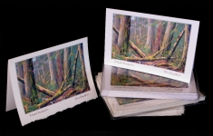 Forests - Pileated Woodpecker - art card
