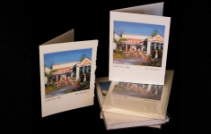 Cadboro Bay Coffee art card group boxed